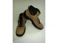 69366757121 Kotníková obuv - světle hnědá